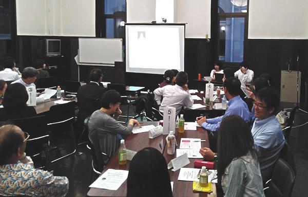 写真:2019年5月 かながわ女性経営者ネットワーク(女性部会)例会の様子