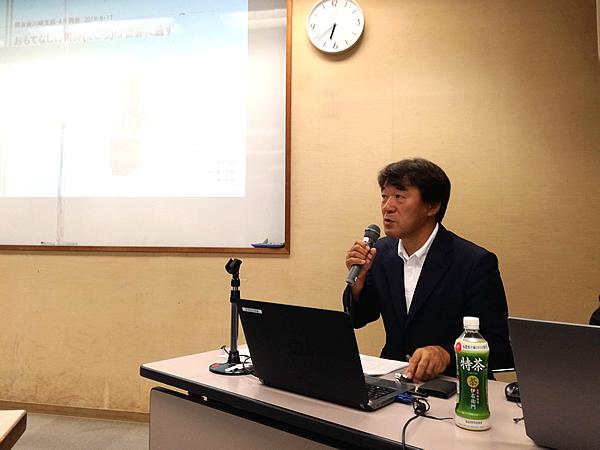 写真:タイジ株式会社 代表取締役 堀江裕明氏