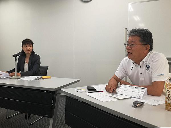 写真:(株)中央運輸 監査役 渡部千代子氏