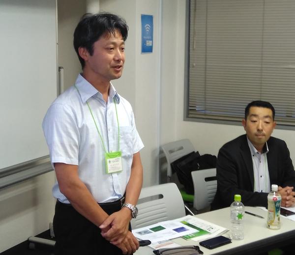写真:キソー工業株式会社代表取締役鈴木幹男氏