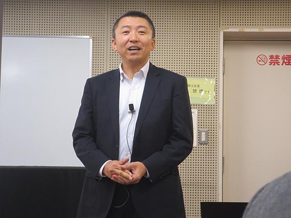写真:エレックス工業株式会社 代表取締役 内藤岳史氏