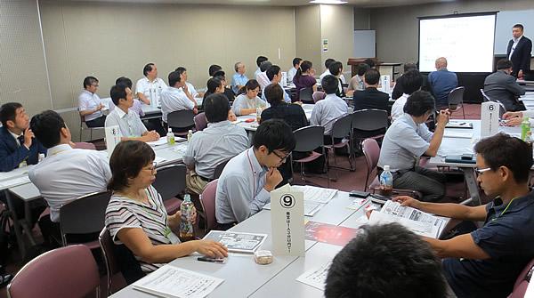 写真:写真:神奈川同友会 たま田園支部7月例会の様子