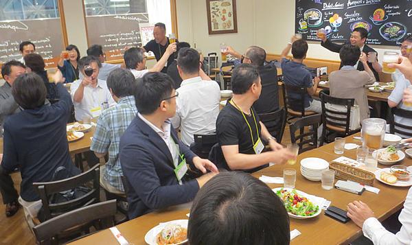 写真:神奈川同友会 たま田園支部7月例会の様子