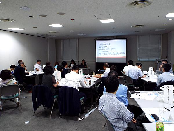 写真:神奈川同友会 横浜みなと支部7月例会の様子