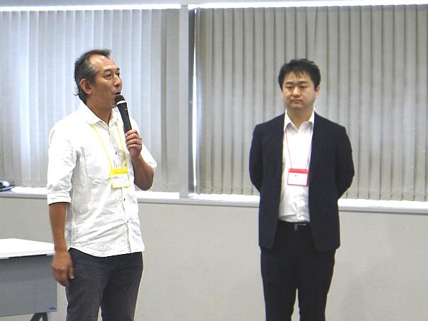 写真:2019年8月ダイバーシティ委員会の例会 田中博士ダイバーシティ委員長