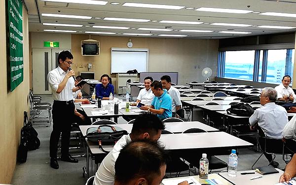 写真:神奈川同友会 川崎支部8月例会の様子