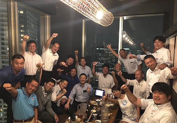 写真:神奈川同友会 川崎支部8月懇親会の様子