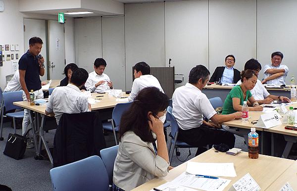 写真:神奈川同友会 横浜みなと支部9月例会の様子