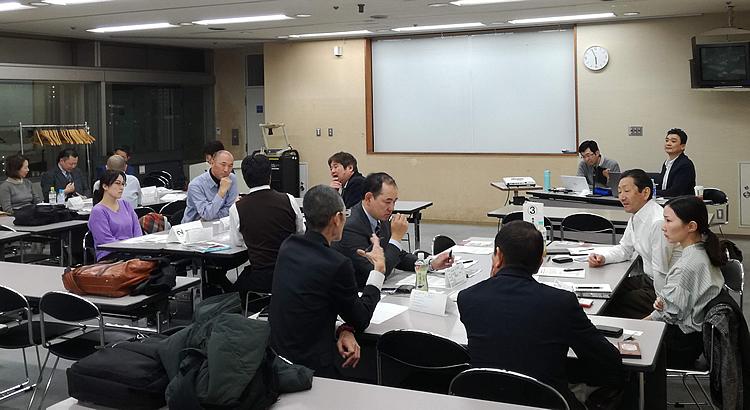 写真:2020年12月 川崎支部例会の模様