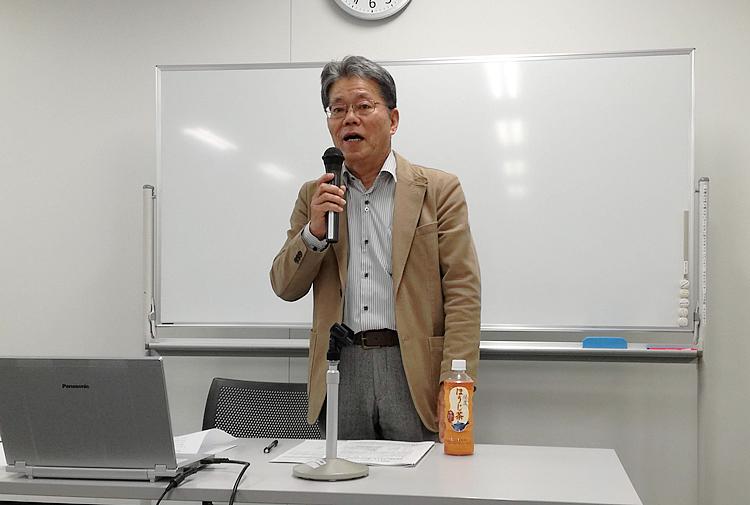 写真:(株)カズ・マリンプロダクツ 会長 岩根一巳氏