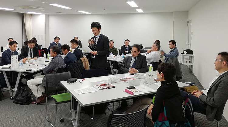 写真:2020年1月 神奈川同友会 湘南支部例会の模様